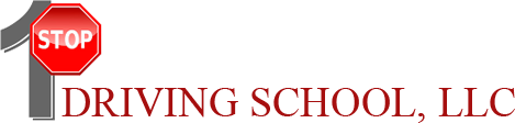 1 Stop Driving School Logo
